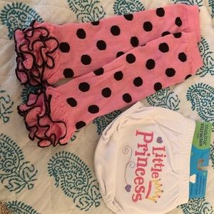 Infant bottom and sock set
